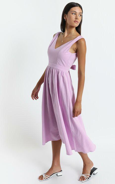 Carrington Dress in Lilac