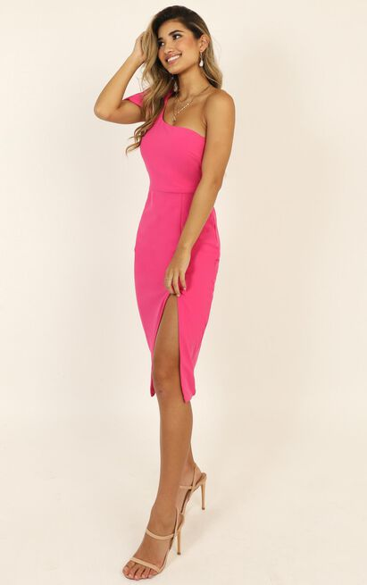 I Got A Feeling Dress in hot pink - 20 (XXXXL), Pink, hi-res image number null