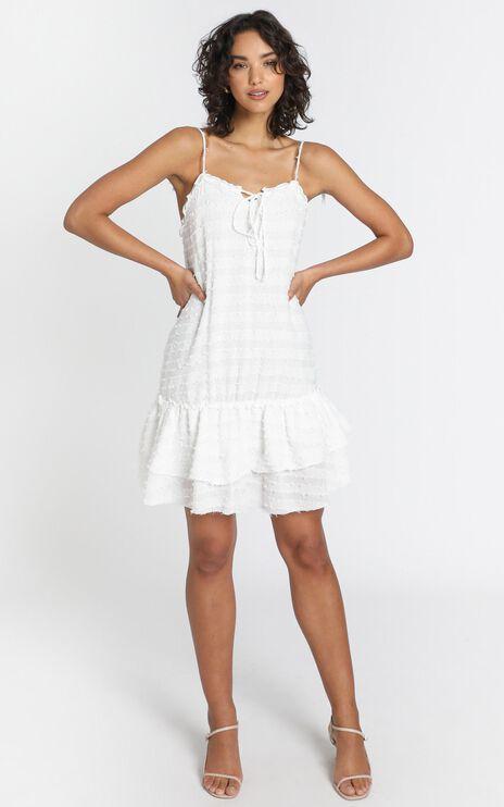 Caterina Dress in White