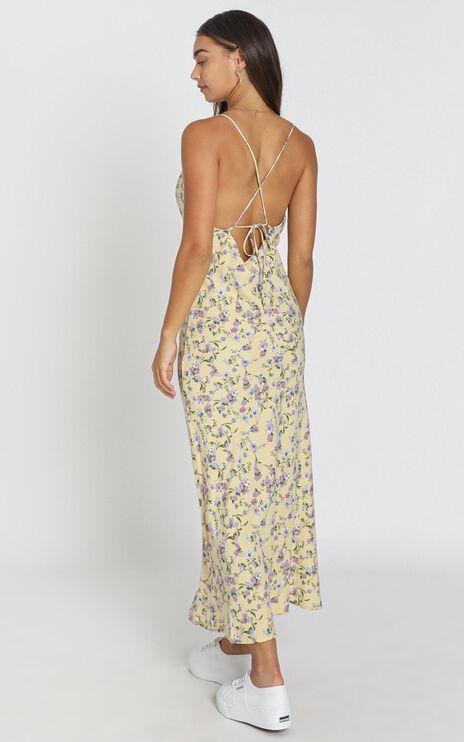 Reese Dress in Yellow