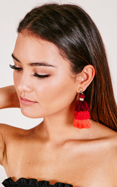 The Show Goes On earrings in multi, , hi-res image number null