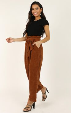 For The Road Trip Pants In Rust