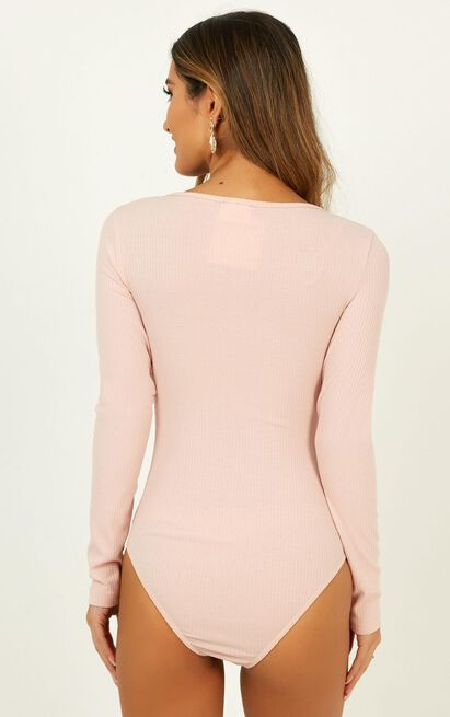 Running Loose Bodysuit In blush - 12 (L), Blush, hi-res image number null