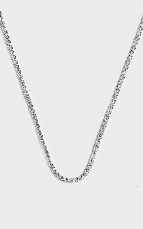 Global Scale Chain Necklace in Silver