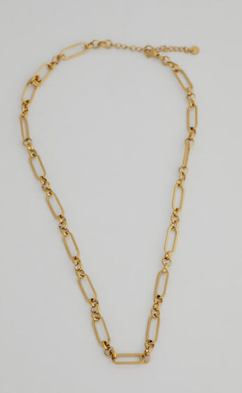 RELIQUIA - GENEVIEVE NECKLACE in Gold