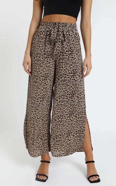 Keeva Pants in Leopard Print