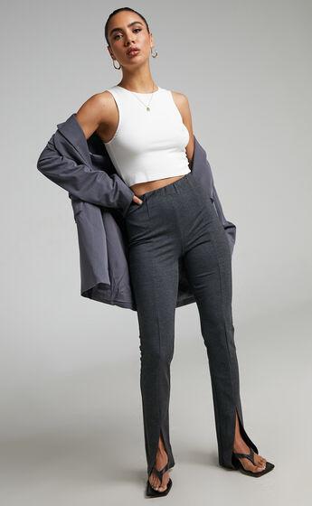 4th & Reckless - Eira Legging in Dark Grey