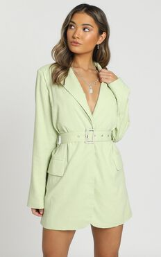 Babette Dress In Lime