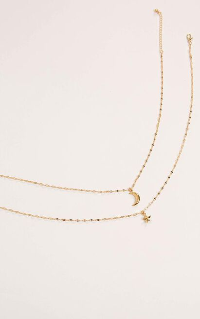 Dont Trust Myself Necklace In Gold, , hi-res image number null
