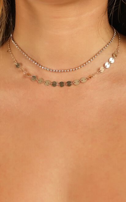 Better Luck Choker In Gold, , hi-res image number null