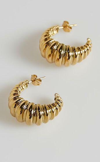 Peta and Jain - Honey Earrings in Gold