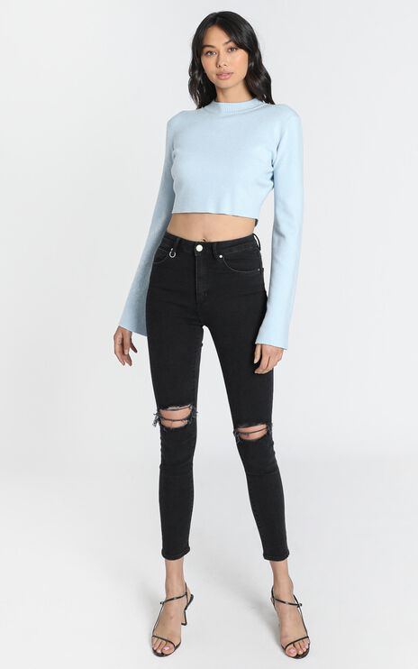 Neuw - Marilyn Skinny Jeans in Busted Black