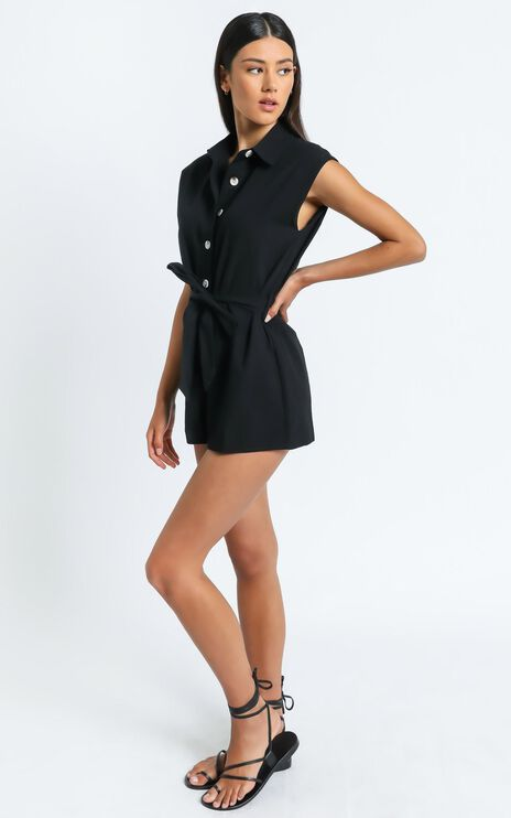 Kendy Playsuit in Black