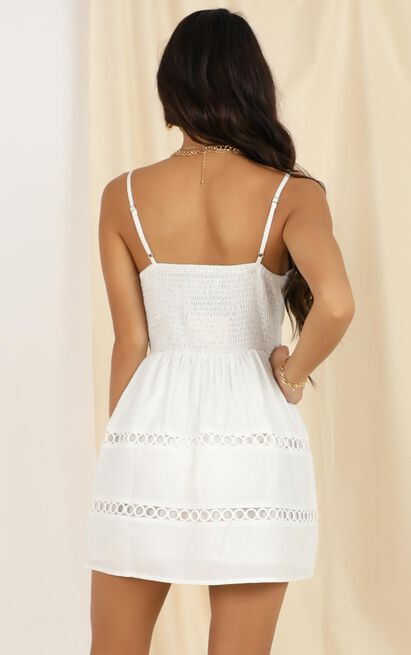 Break On Through dress in white - 12 (L), White, hi-res image number null