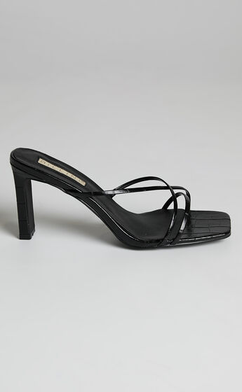 Billini - Oakly Heels in Black Croc