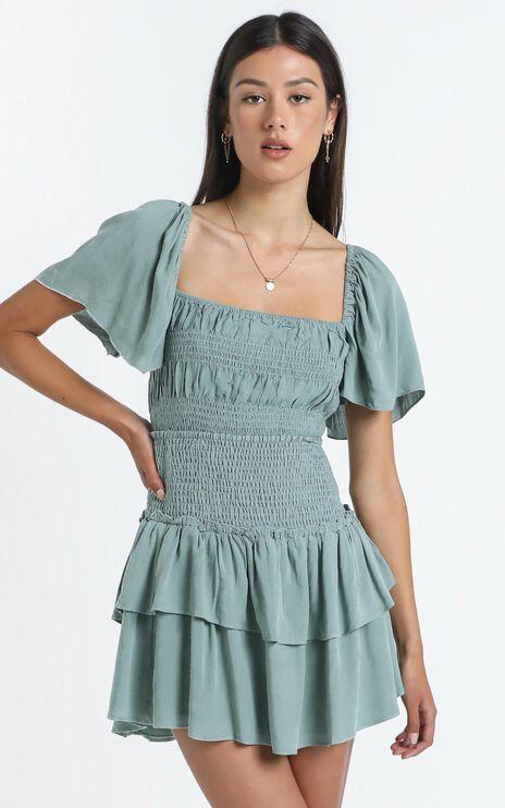 Kloe Skirt in Sage