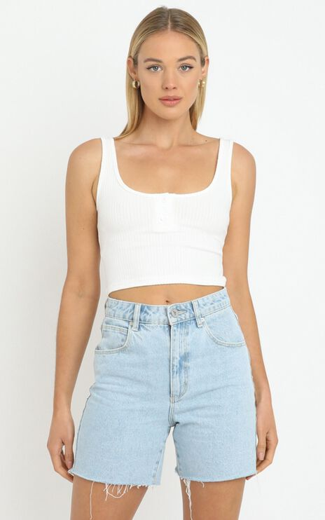 Miller Top in White