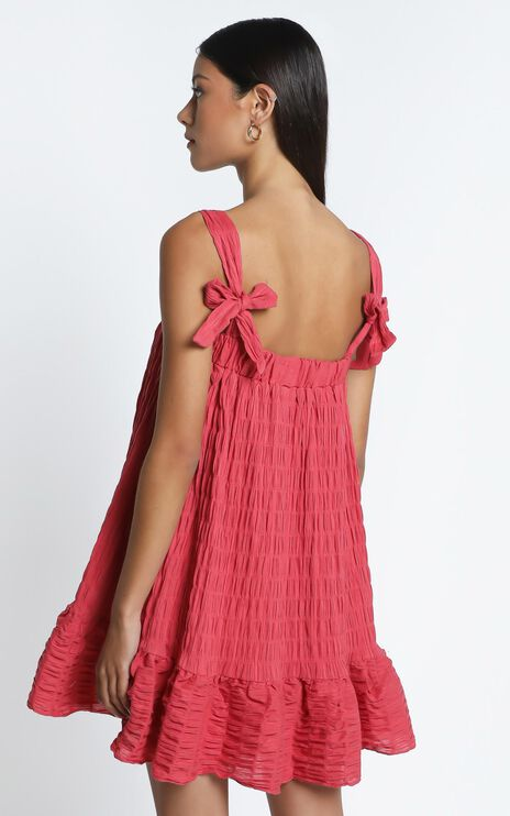 Amaryllis Dress in Watermelon