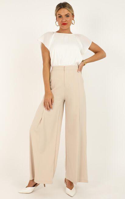 Taken Care Of pants in beige - 16 (XXL), Beige, hi-res image number null