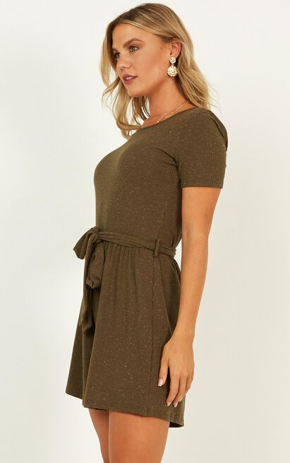 Better Than It all Playsuit in khaki - 20 (XXXXL), Khaki, hi-res image number null