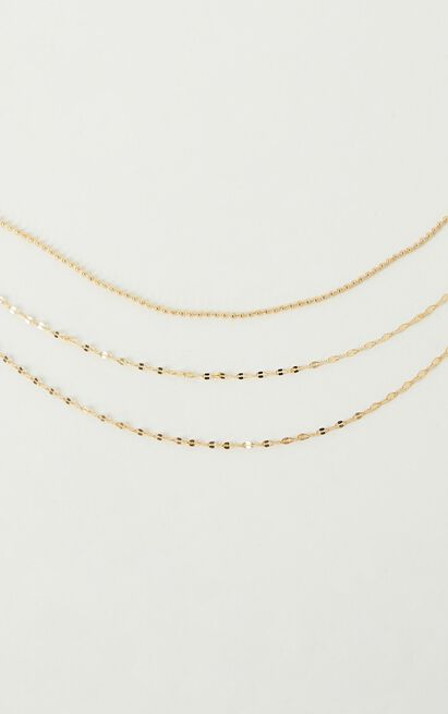 Lucky Strike Necklace In Gold, , hi-res image number null