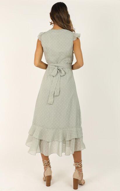 Let It Go Dress in sage - 20 (XXXXL), Sage, hi-res image number null