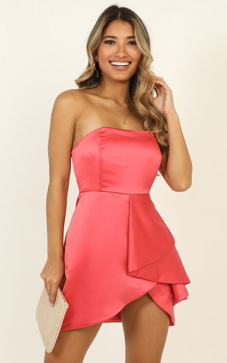 Isnt She Lovely Dress In Coral