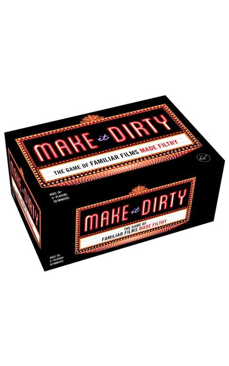 Make It Dirty Game