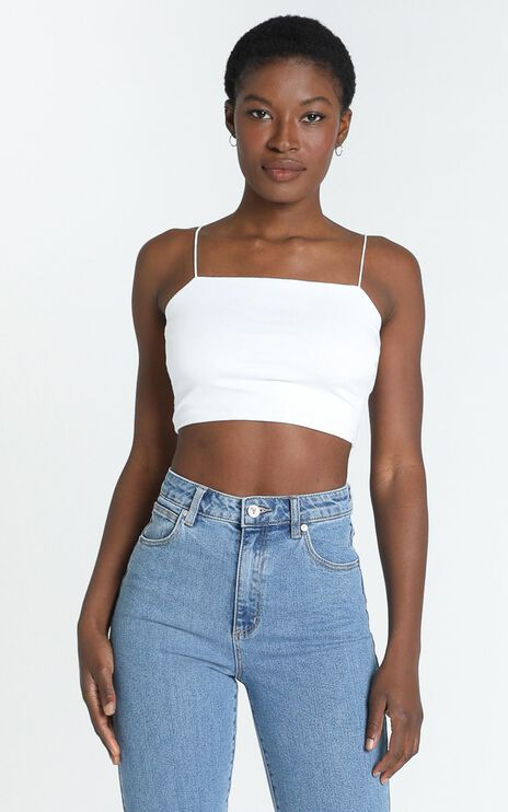 Modern Gal Top In White