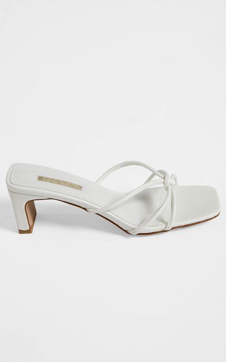 Billini - Grace Heels in White