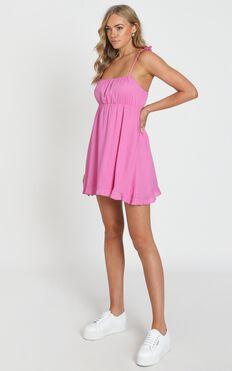 Wild Beauty Dress In Pink
