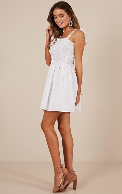 Forgiven Dress in white - 12 (L), White, hi-res image number null