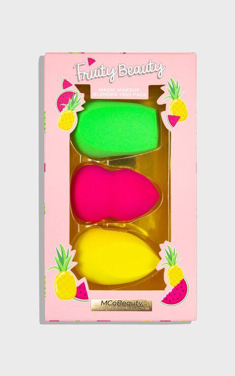 MCoBeauty - Fruity Beauty Magic Makeup Blender Trio Pack