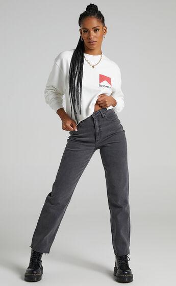 Lee - High Straight 80 Jean in Black Vintage