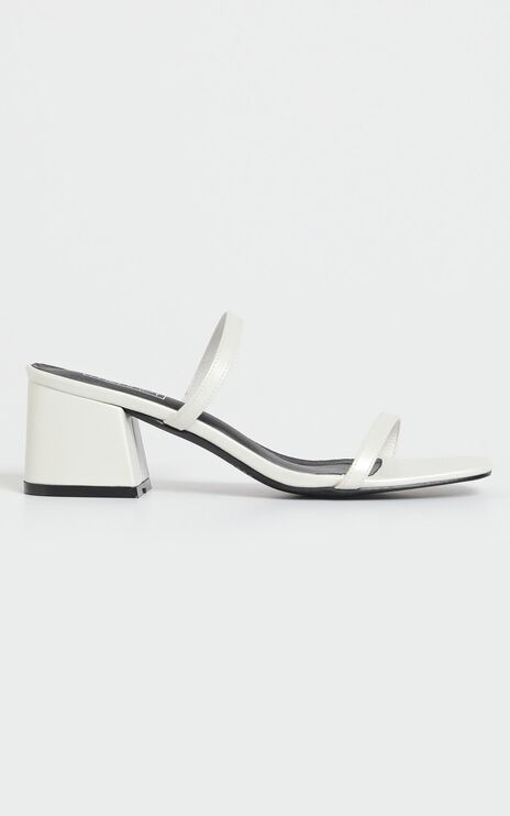 Therapy - Goldie Heels in White