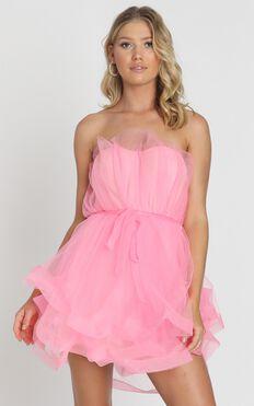 Sheffield Dress in Pink