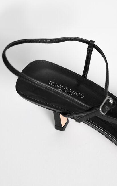 Tony Bianco - Caprice Heels in black kid - 10, Black, hi-res image number null