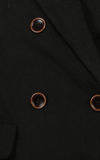 Confidence Is Key Blazer Coat in black - 20 (XXXXL), Black, hi-res image number null