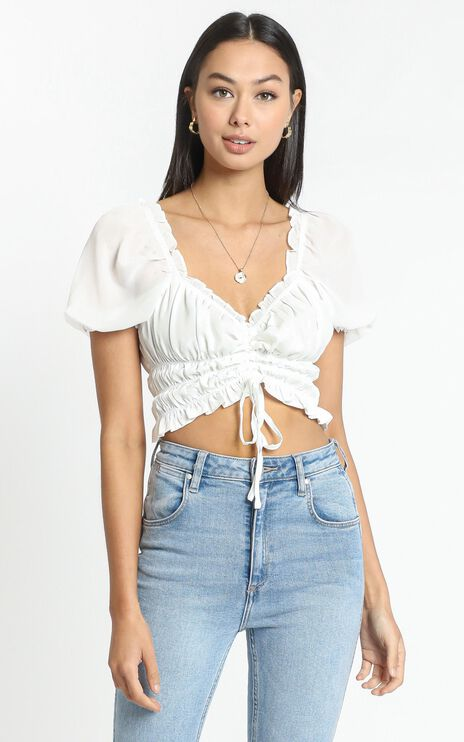 Lylou Top in White
