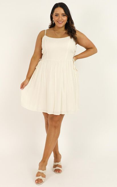 Nice And Tidy Dress in cream - 20 (XXXXL), Cream, hi-res image number null