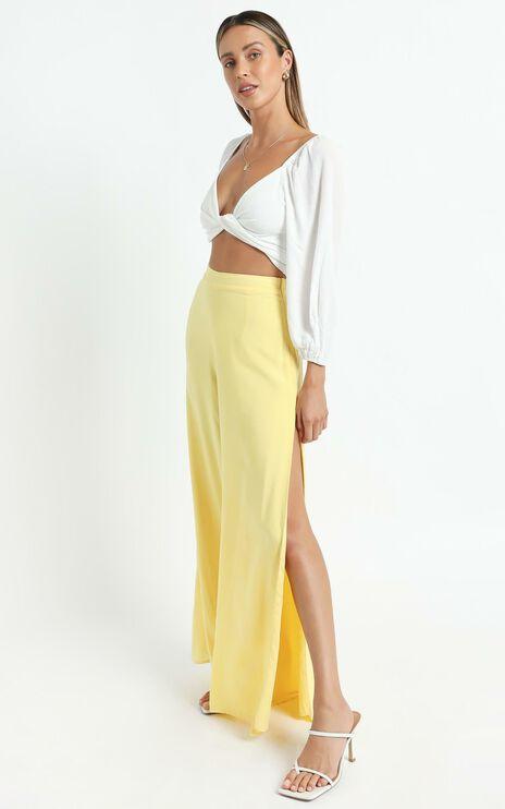 Narissa Pants in Lemon