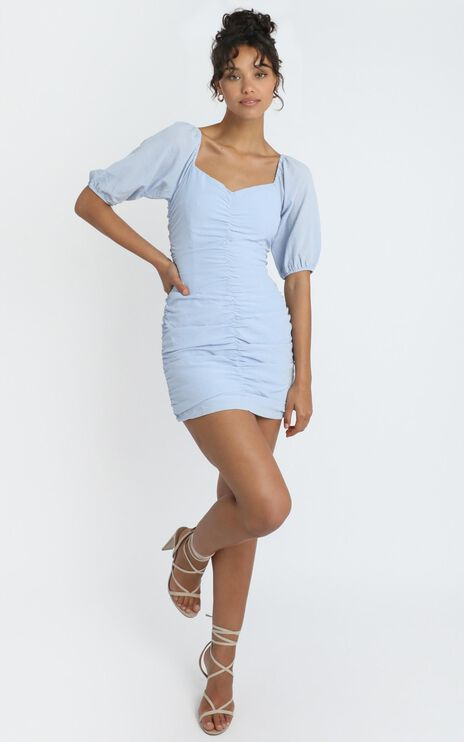 Avis Dress in Blue