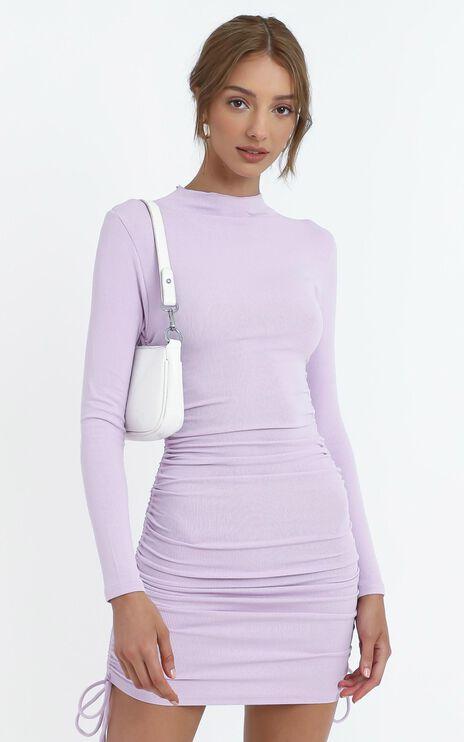 Tammy Dress in Purple