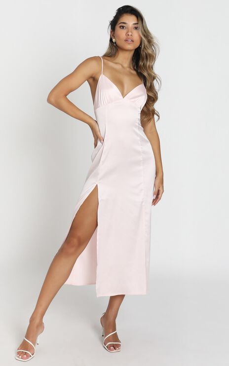 Rosalia Dress In Peach