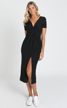 Press Rewind Dress in Black