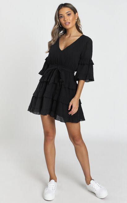 Meet Me In The Sun Dress in black - 20 (XXXXL), Black, hi-res image number null