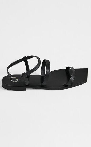 Tony Bianco - Reiki Sandals in Black