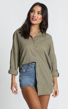 Chesney Shirt In Khaki