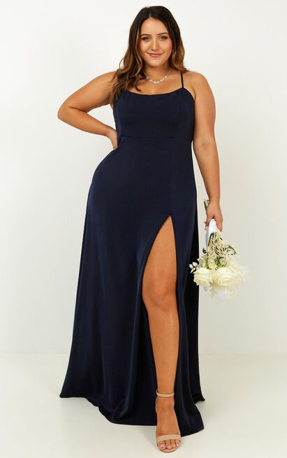 Will it be us dress in navy - 20 (XXXXL), Navy, hi-res image number null