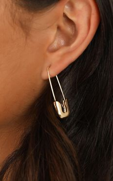 Find Someone Earrings In Gold